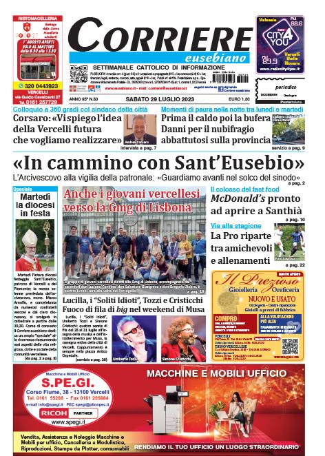 Leggi il Corriere eusebiano