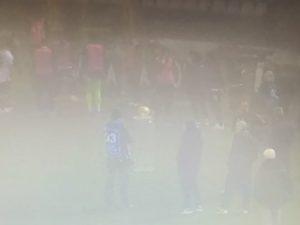 Pro vs Giana vince la nebbia